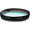 Leica UV/IR E67 filter, svart