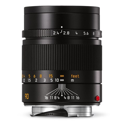 Leica Summarit-M 90 mm f/2,4 svart