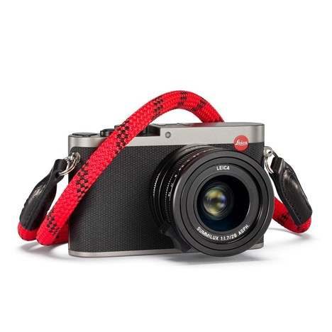 Leica Rope Strap by COOPH, 126 cm, Fire